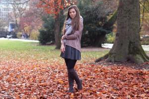 Outfit München Blogpost Englischer Garten Fashion