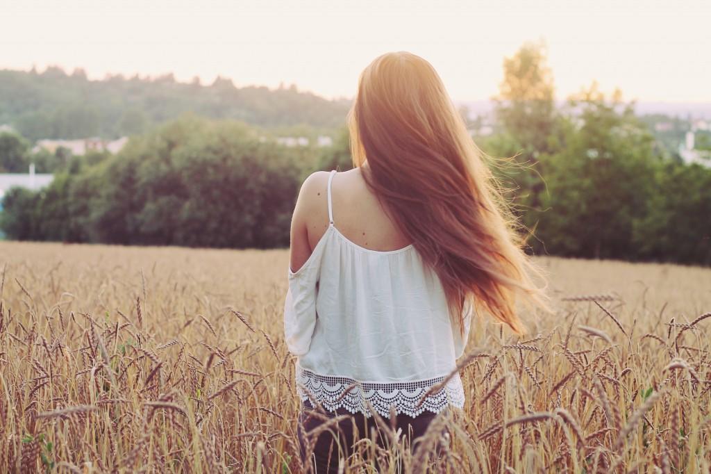Zusatzpflege für trockenes Haar – Haaröl