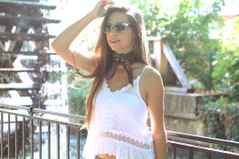 Halstuch Accessoire Trend sommer 2017 blogger mode