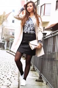 Modebloggerin auf deutschland