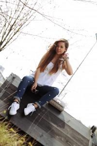 Jeans mit Perlen verzieren Trend 2017 fashion blogger modeblogger Ausgburg München