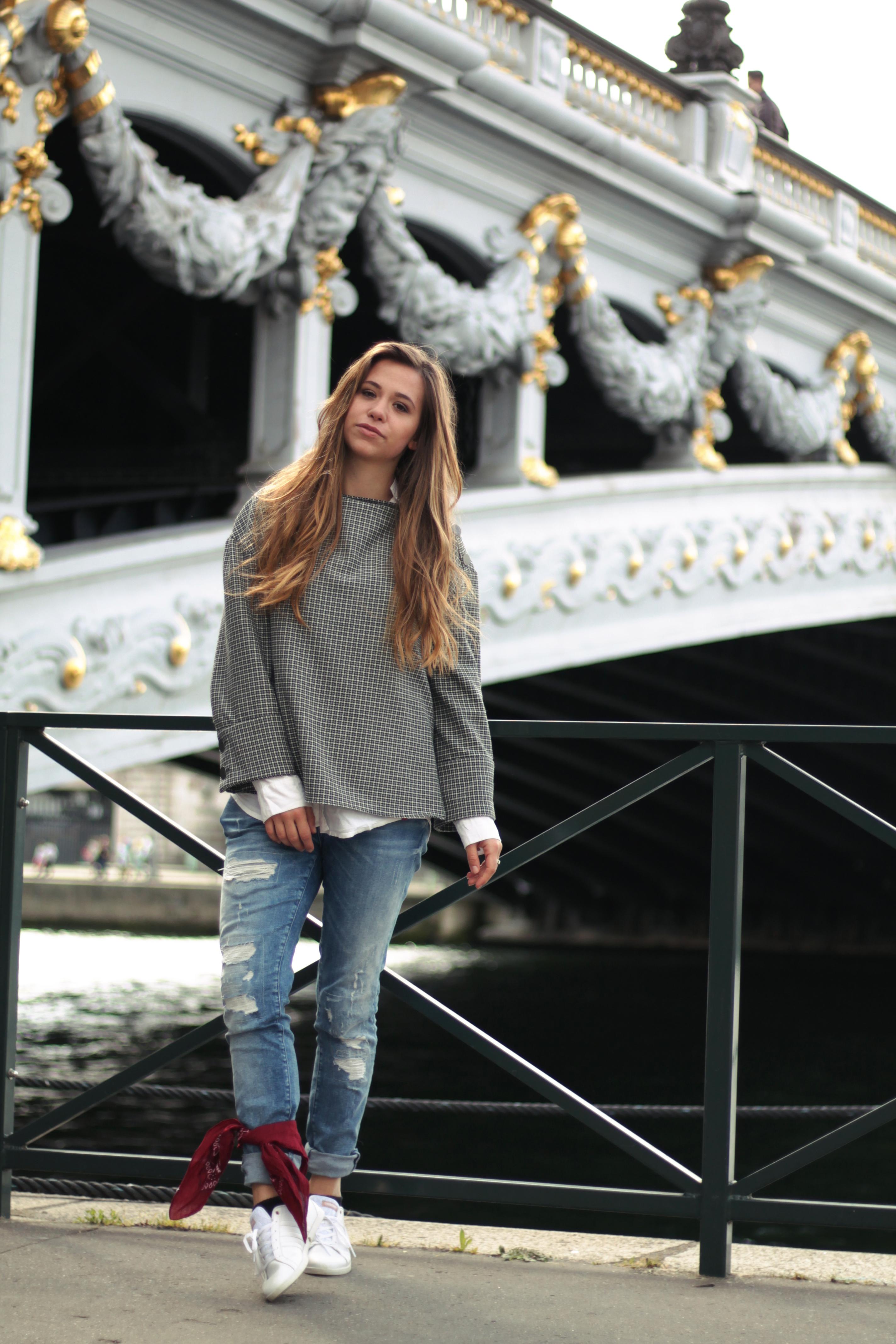 Vichy-Karo in Paris / Modetrend Frühjahr 2017