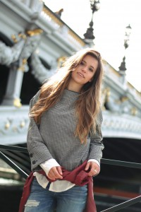 Vichy-Karo Trend 2017 Paris Pont Alexandre III München Blogger Fashion Blogger Lifestyle Blogger Blogger-Outfit Fashion