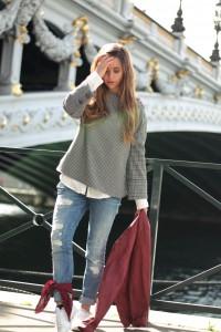 Vichy-Karo Trend 2017 Frühjahr Boyfriend Jeans München Blogger Fashion Blogger Lifestyle Blogger Blogger-Outfit Fashion