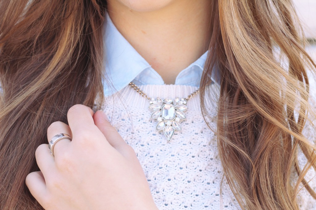 Kette Schmuck Blogger style Outfit