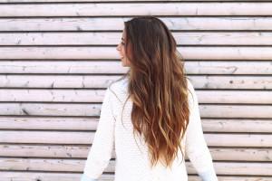 Haare blogger long hair braune haare