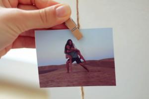 Fotowand DIY Fotoseil Erinnerung Ausdruck Polaroid