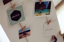 Fotoseil DIY Memories die schönsten Erinnerungen festhalten Holzklammer mini