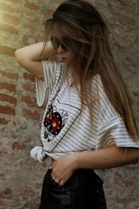Breton-Streifen shirt coco chanel oversize Streetstye blog trend blogger münchen Whitelilystyle
