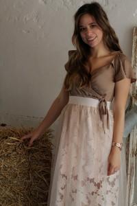 Outfit Sheer Skirt Hochzeitsgast look blogger augsburg münchen fashion