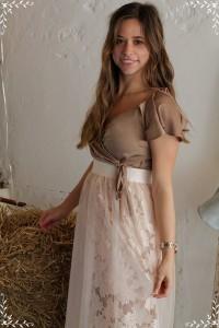 Outfit Sheer Skirt Hochzeitsgast look style blogger augsburg münchen fashion Trend Whitelilystyle