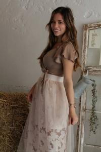 Outfit Sheer Skirt Hochzeitsgast look style blogger augsburg münchen fashion Whitelilystyle