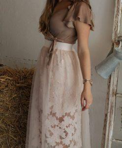 Outfit Sheer Skirt Hochzeitsgast look style blogger augsburg münchen fashion lookbook