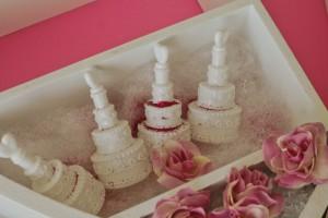 Seifenblasen in Tortenform DIY Geschenk blogger