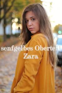 Senfgelbes Oberteil Wie kombiniere ich senflgelbes Kleidungsstück Overknees Outfit Lookbook blogger Fashion Style München Augsburg Trend Herbst 2017
