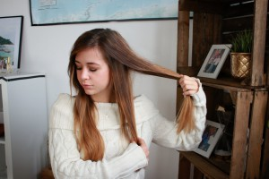 große locken mit lockenstab lange haare frisuren braune haare blogger deutschland münchen