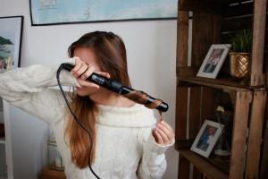 große locken mit lockenstab lange haare frisuren braune haare blogger deutschland münchen lockenstab mehrere aufsätze