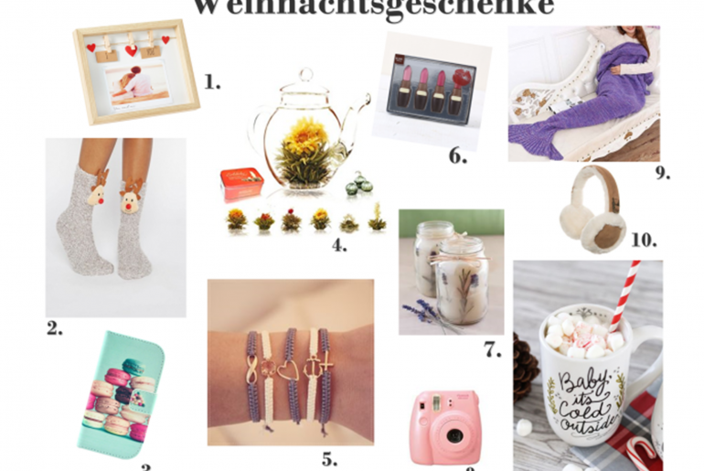 Geschenkidee- Weihnachtsgeschenke Tipps für Frauen Geschenke für modebegeisterte geschenke blog