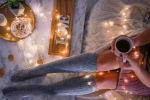 Monatsfavoriten Dezember- Winter Edition overknee socks socken winter kuschelig tee kusmi tee