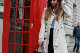Trenchcoat kombinieren klassischer mantel stylen beiger Trenchcoat mit strumpfhose blogerdeutschland fashion style blog Augsburg München Zweireiher Coller styling tipps