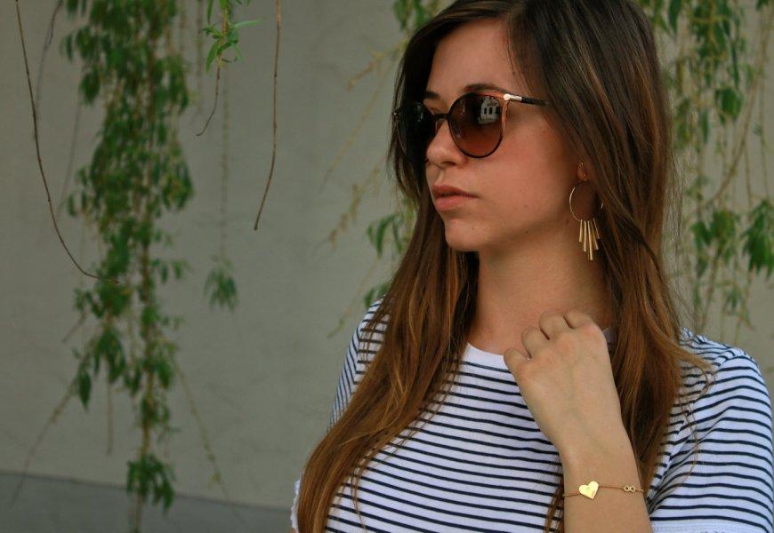 Accessoires gold ohrringe armband thomas sabo sonnenbrille jimmy choo