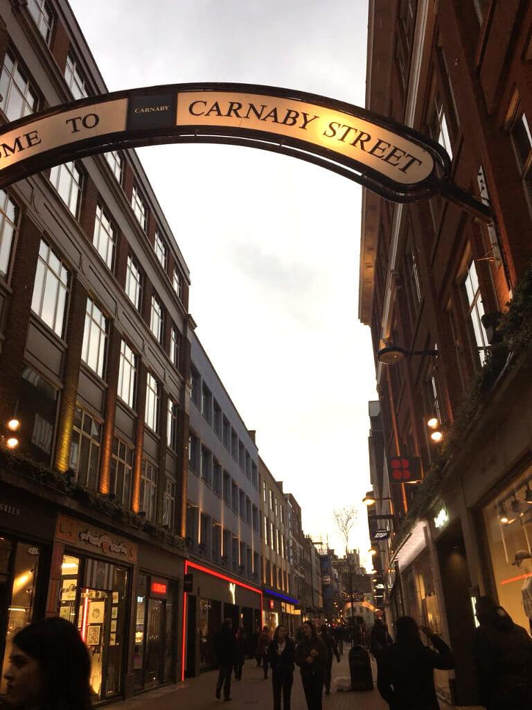 Carnaby street london tipps Sehenswürdigkeiten städtereise kurztrip sightseeing London geheimtipps must see