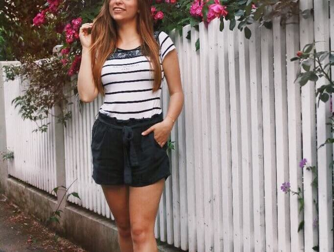 schleifen - shorts sommer outfit outfit look of the day fashion blogger style styling tipps Augsburg paperbag shorts