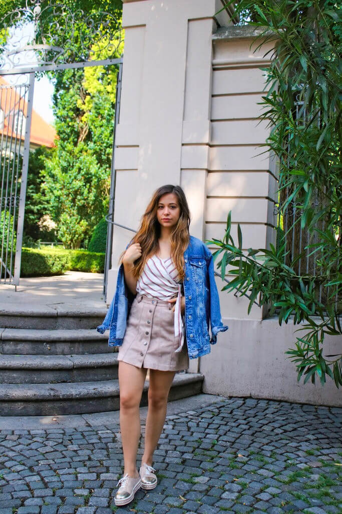 Wie ich ein Sommerkleid im Herbst kombiniere +Stilveränderung