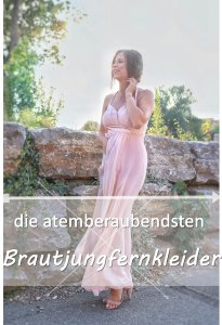 Die ultimativen Brautjungfernkleider + Outfit langes rosa Kleid