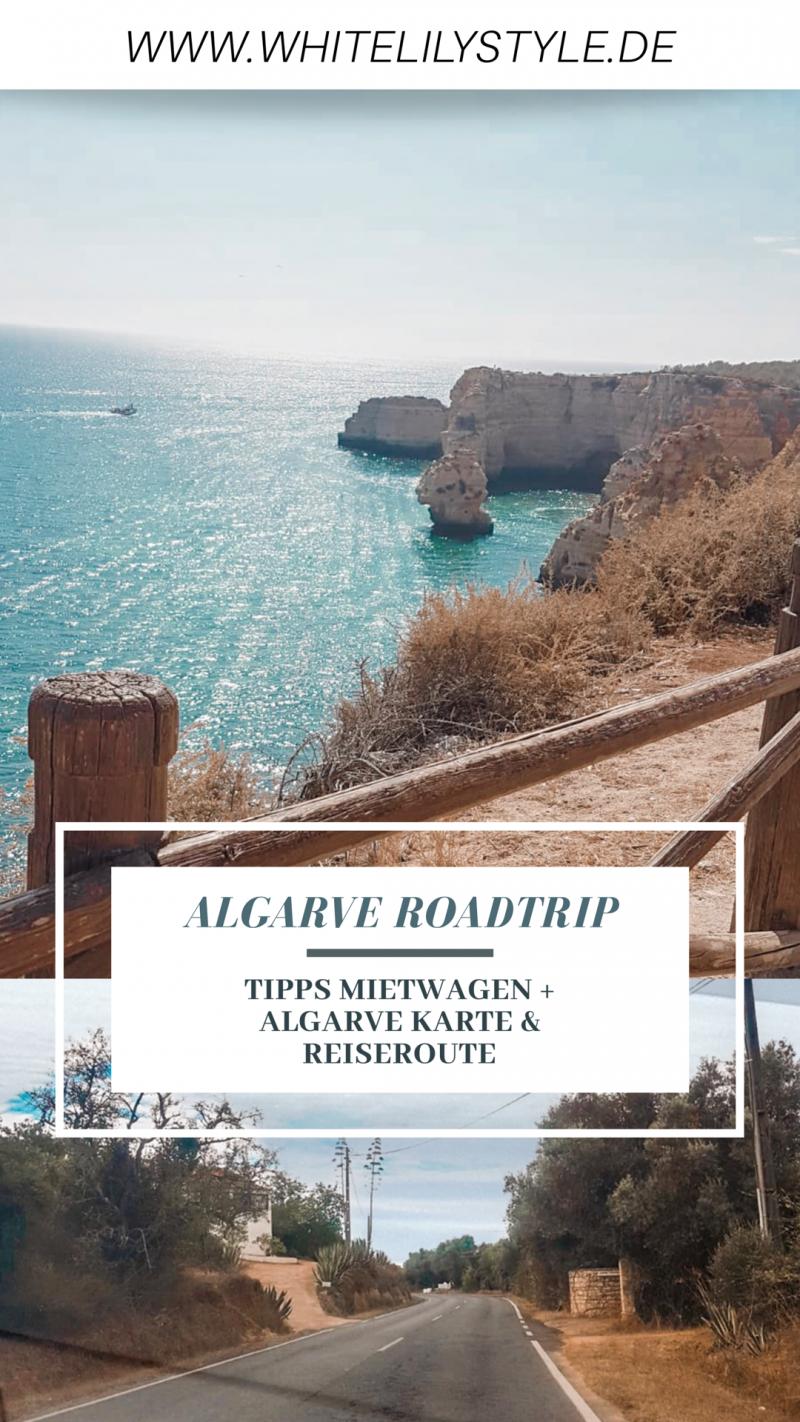 Algarve Roadtrip: Mit Tipps zum Mietwagen und Algarve Karte
