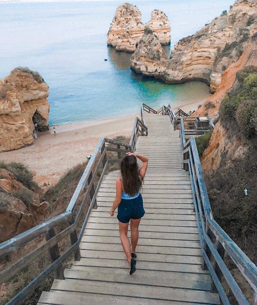 Die 5 schönsten Strände der Algarve Portugal Praia do Camilo