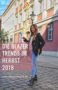 Blazer Trends im Herbst 2018 -so stylen wir Karoblazer & Co.