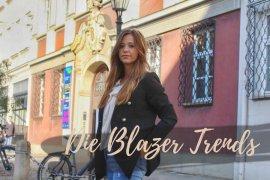 Blazer military style schwarz perlenjeans trend herbst 2018
