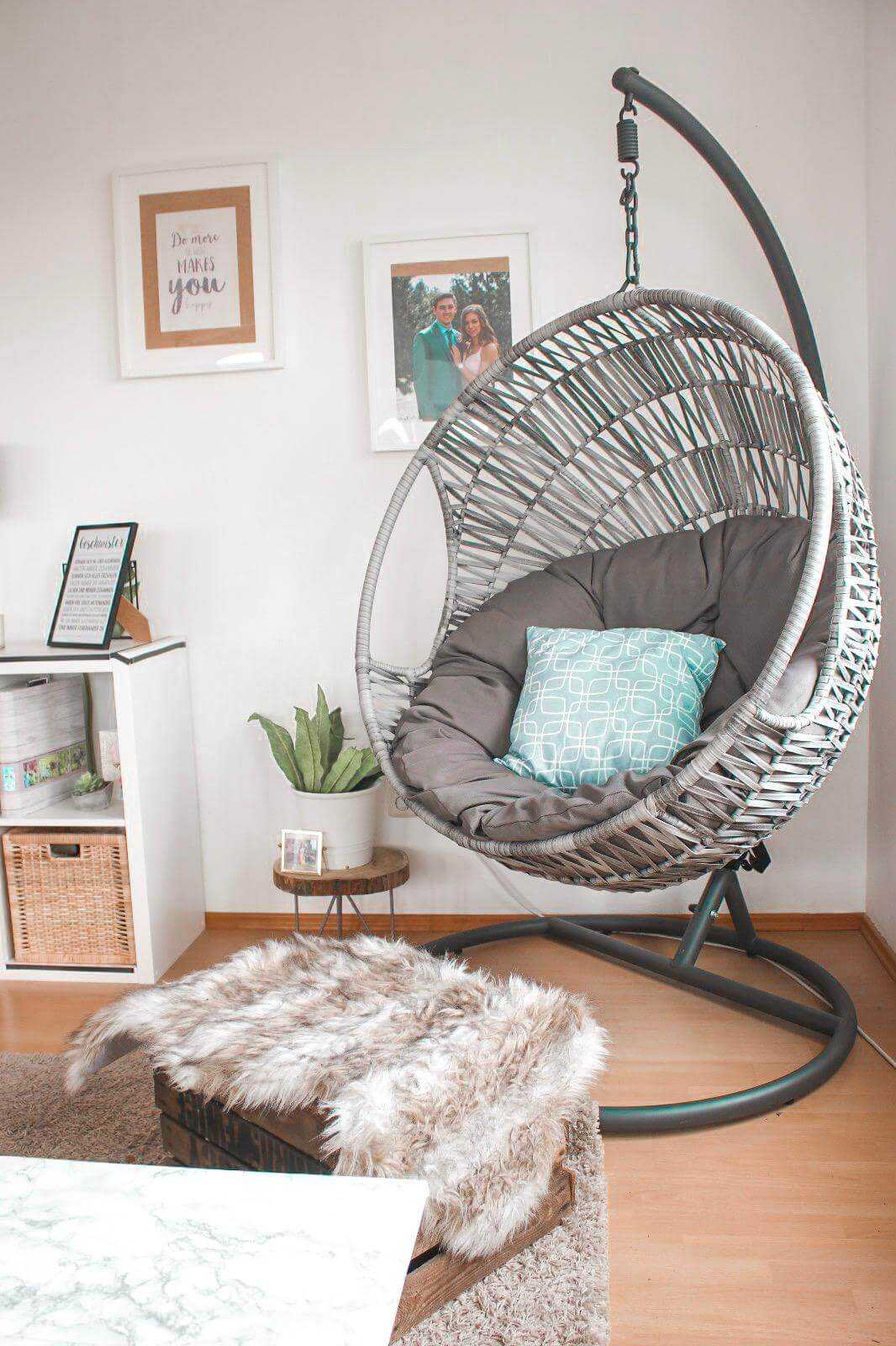 5 Einrichtungstipps  Tropical Boho Wohnzimmer Und Hängesessel (7)