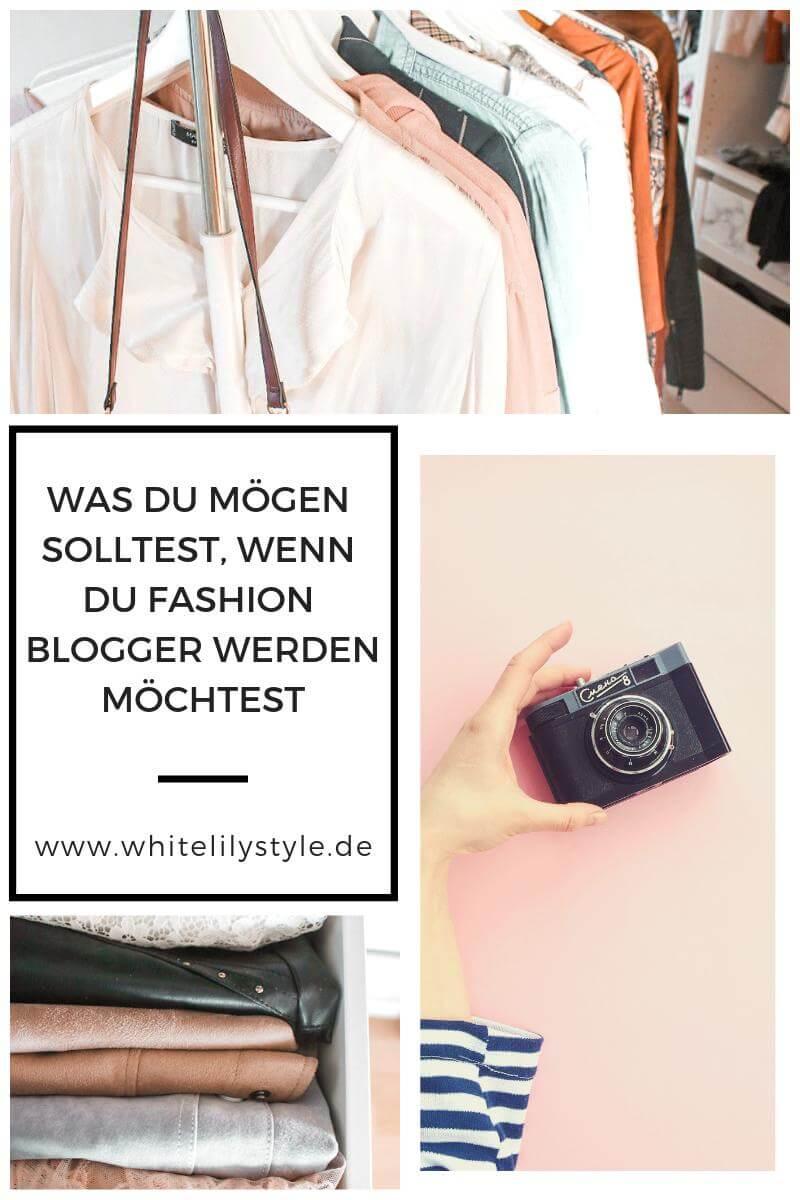 Fashion Blog Whitelilystyle - Was du mögen solltest, wenn du Fashion Blogger werden möchtest