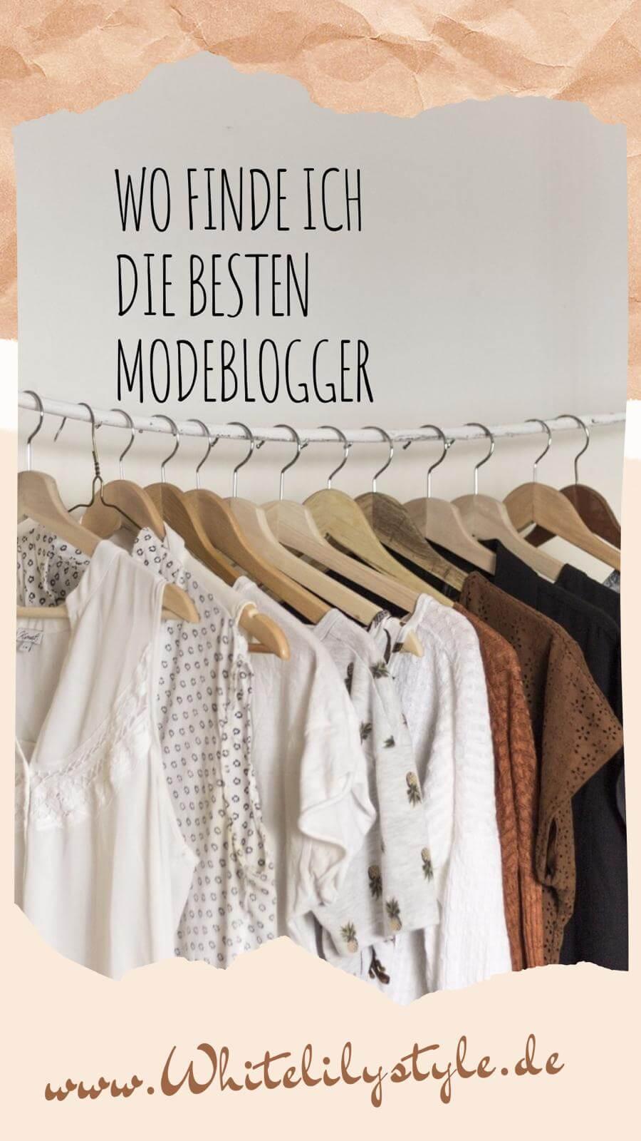 Modeblog Whitelilystyle und wo man Modeblogger findet