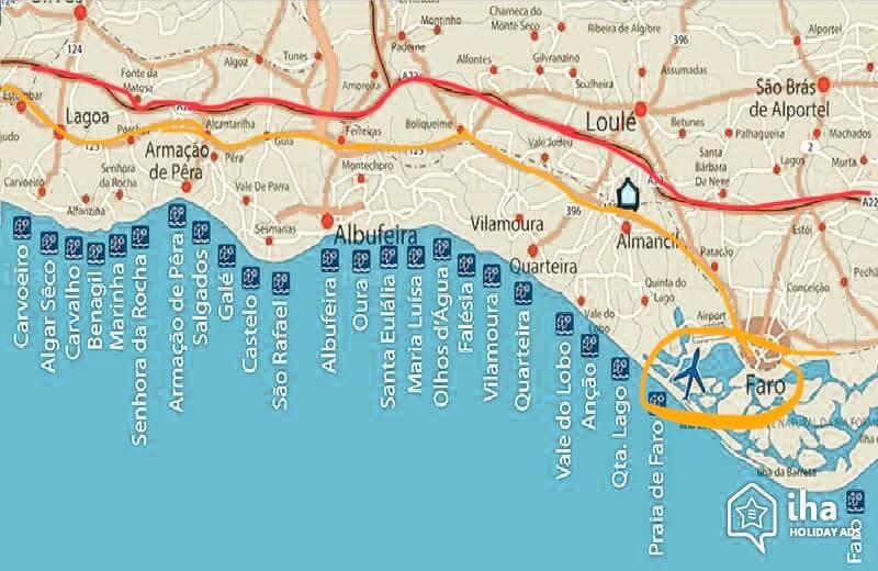Algarve Roadtrip Mit Tipps Zum Mietwagen Und Algarve Karte