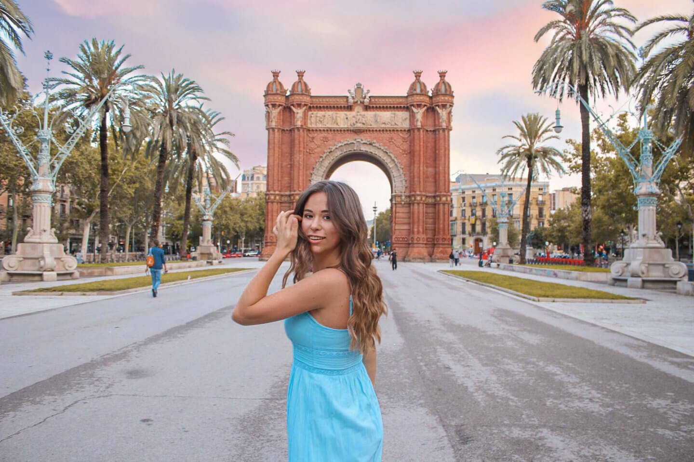 Barcelona - Die Top 10 Instagram Spots Arc de Triompf