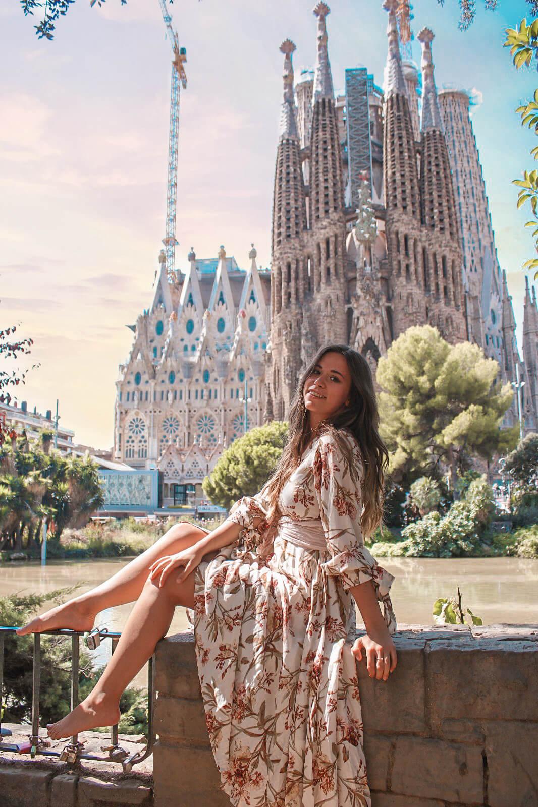 Barcelona - Die Top 10 Instagram Spots Sagrada Familia