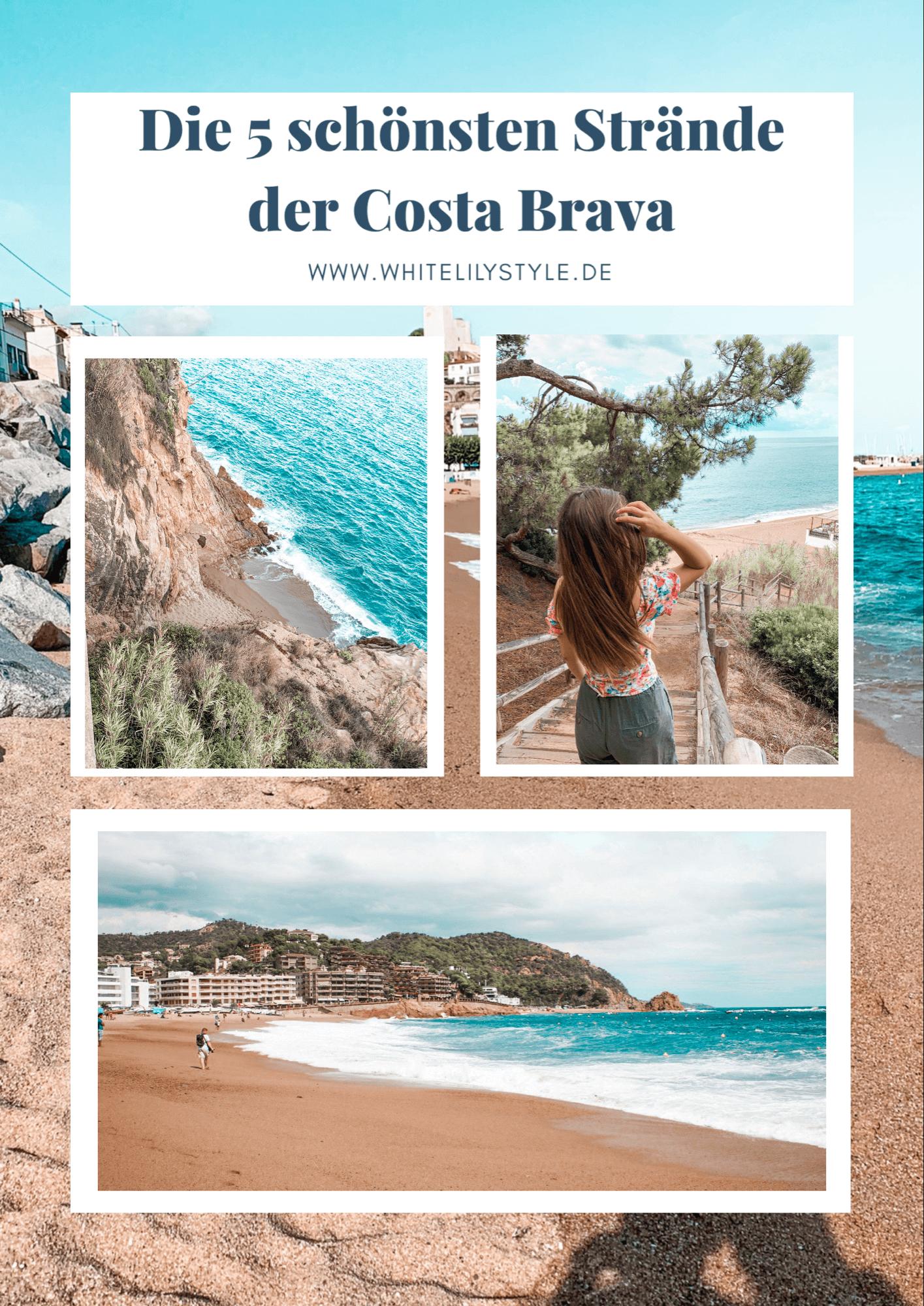 Costa Brava – die 5 schönsten Strände Costa Brava