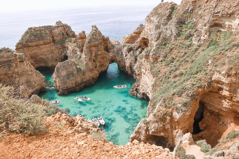Die 5 schönsten Strände der Algarve Portugal Ponta da Piedade