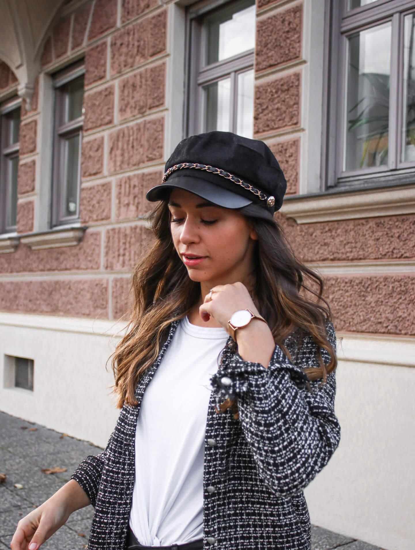 Tweedjacke kombinieren - wie stylen wir den Tweedtrend 2020