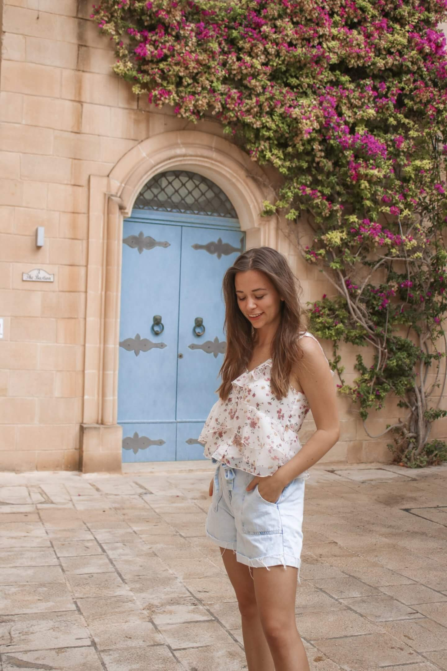 Blaue Tür Mdina - 10 Instagram Spots auf Malta  und die wundervollsten Highlights1
