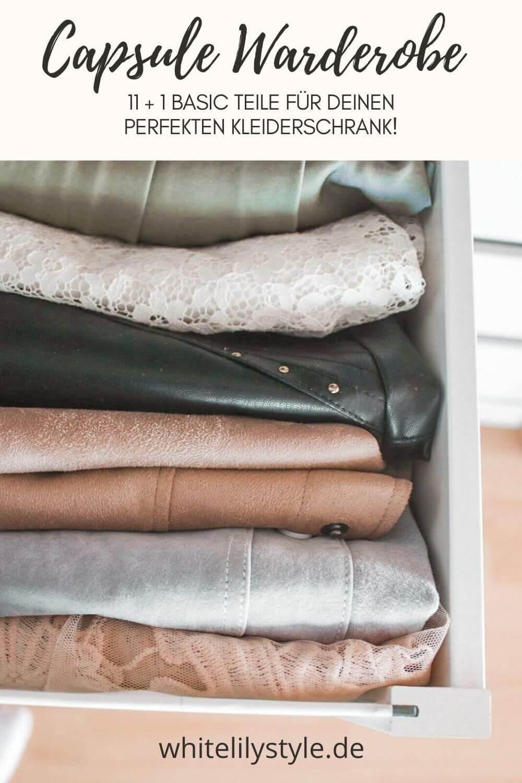 11+ 1 Basic Teile für deine Capsule Warderobe – der perfekte Kleiderschrank!