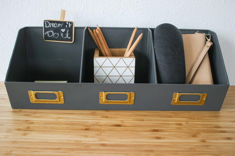 Arbeitsplatz gestalten – Accessoires für's Büro / Homeoffice