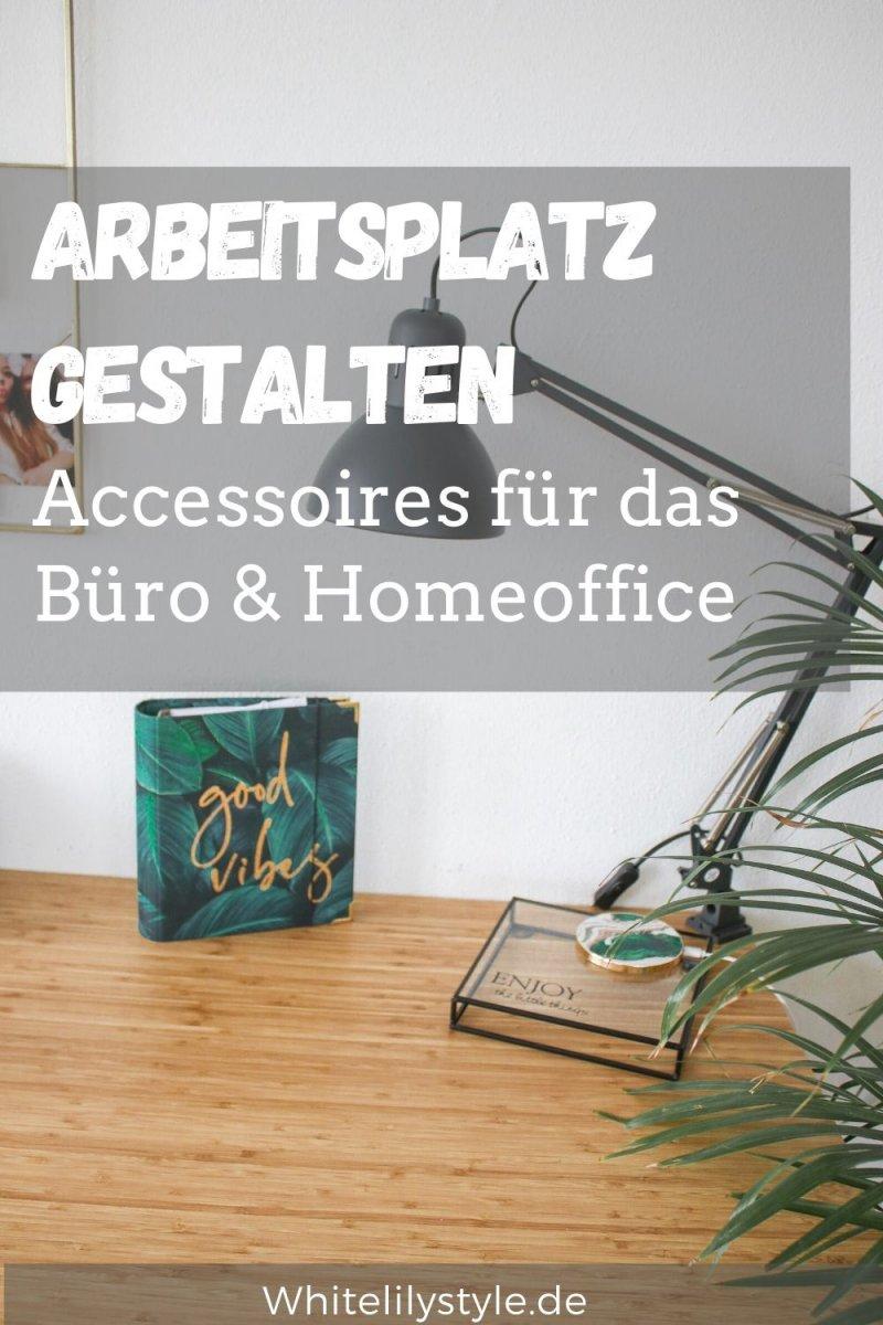Arbeitsplatz gestalten – Accessoires für das perfekte Homeoffice