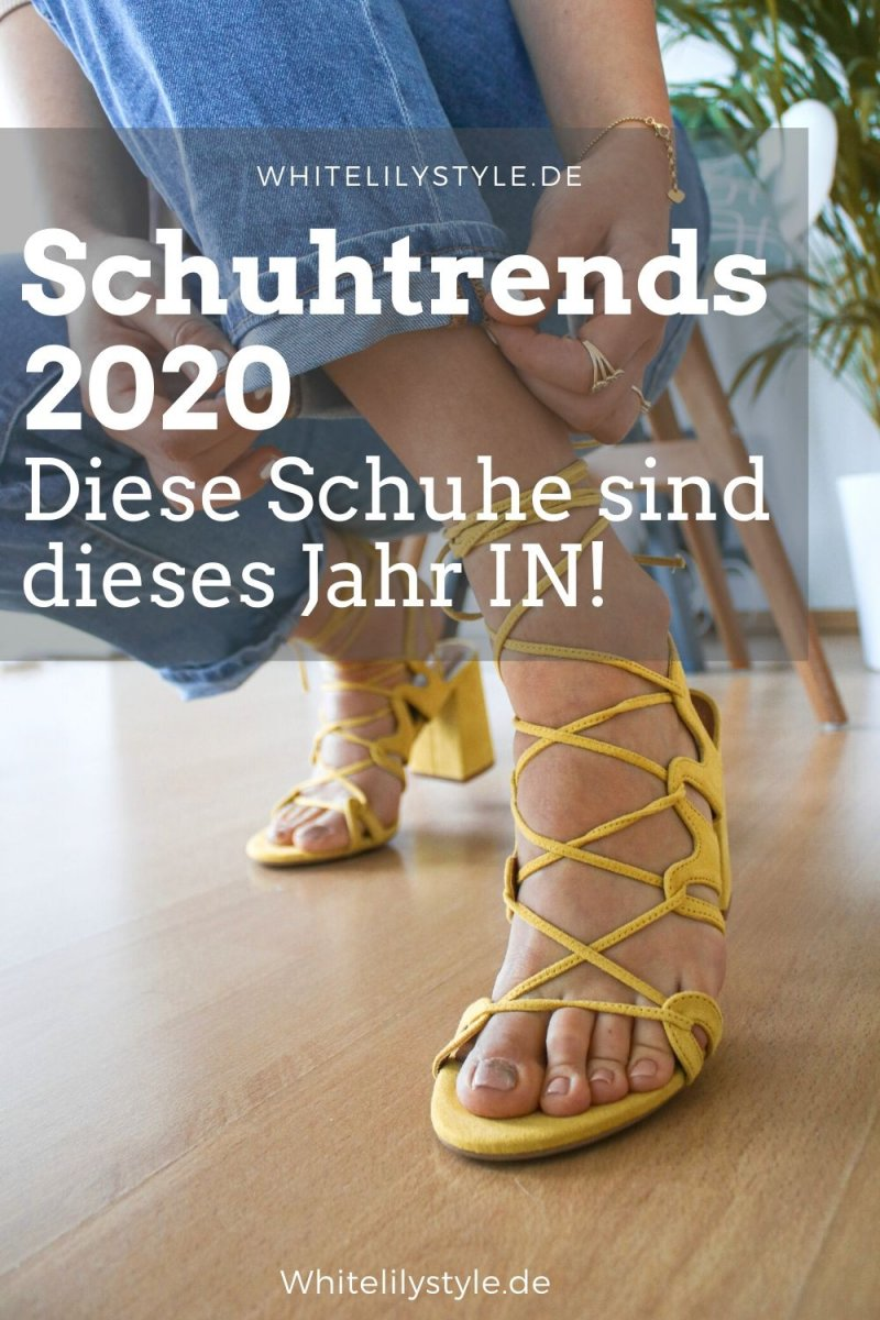 Schuhtrends 2020 – Diese Schuhe sind dieses Jahr IN!