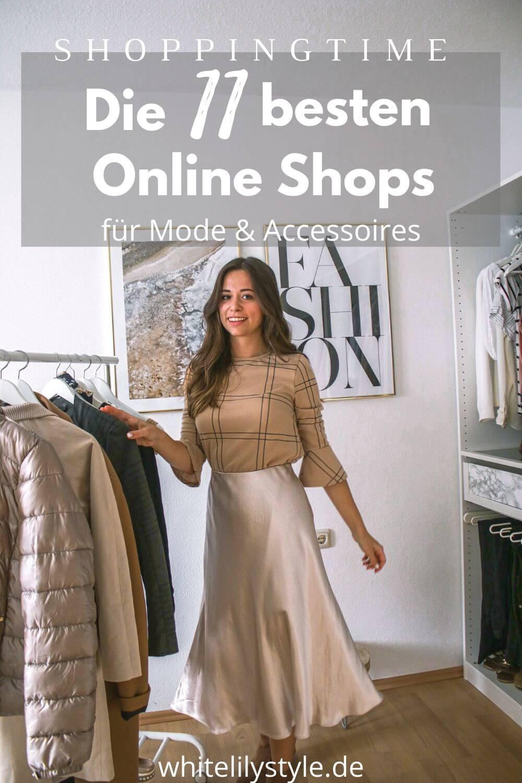 Die besten Mode Online Shops – Meine liebsten Shops für preiswerte Kleidung
