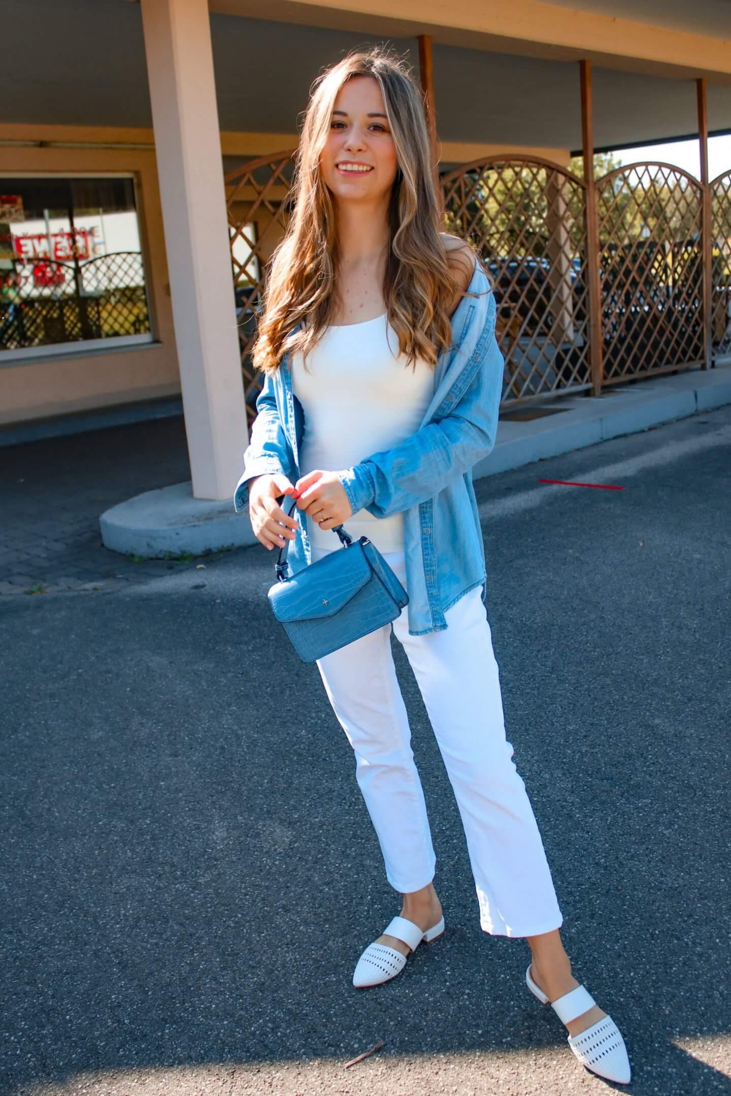 Outfit mit weißer Hose – Wie soll ich eine weiße Hose kombinieren?!/ 5 Styling Tipps für den perfekten Look
