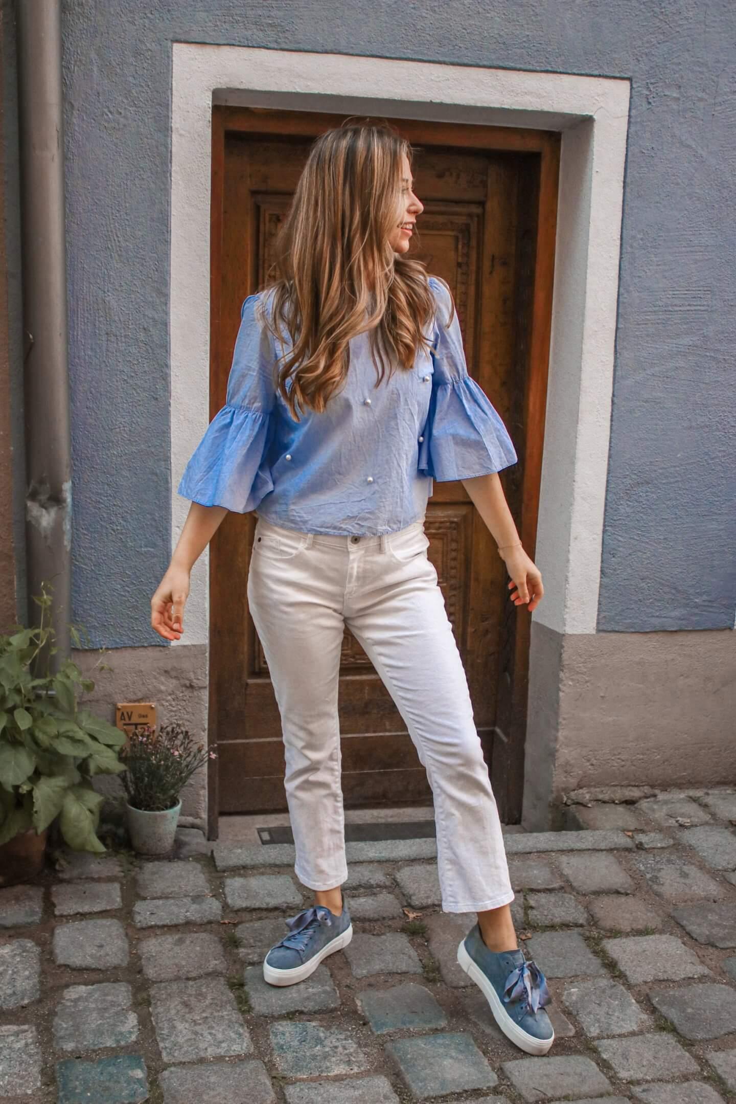 Welche Schuhe zu weißer Hose tragen - ich verrate dir die schönsten Kombinationen